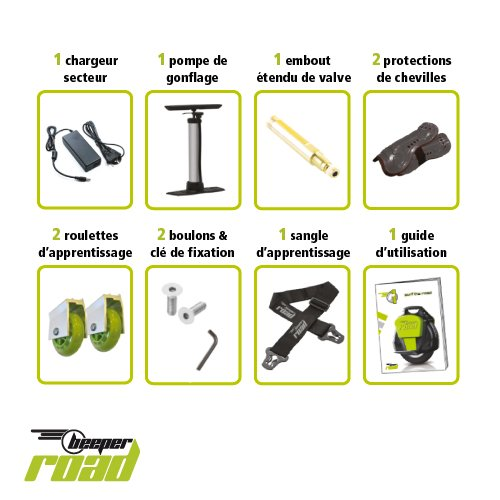 Accessoires monocycle Beeper One Road R1-NV